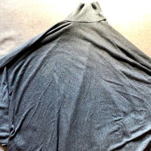 Forever 21 charcoal poncho